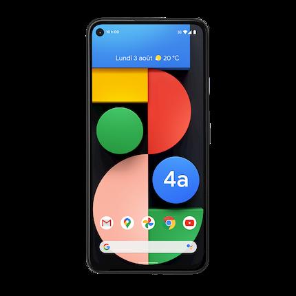 Google Pixel 4a avec 5G