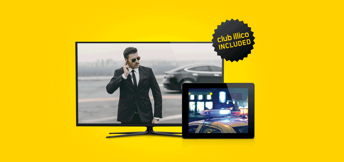 HD Basic TV  + Club illico