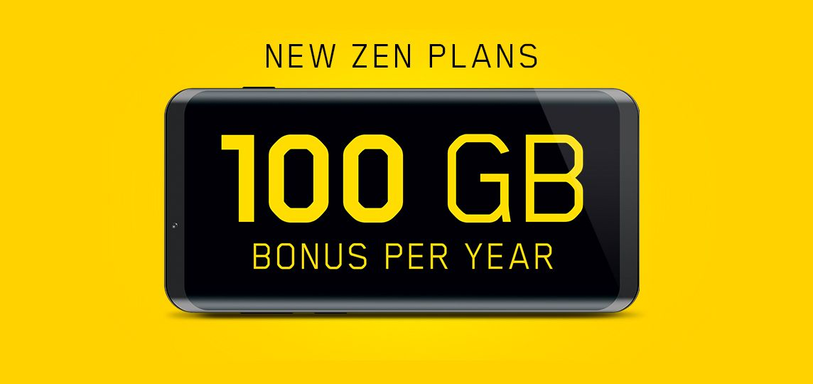 Say goodbye to overage surprises with 100 Gb bonus data per year.