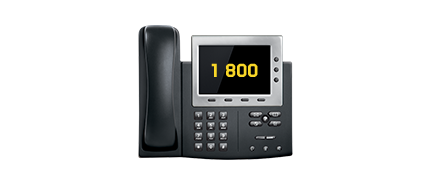 Toll-free numbers (1-800)