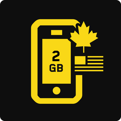 Canada–US 2GB Business Mobile plan