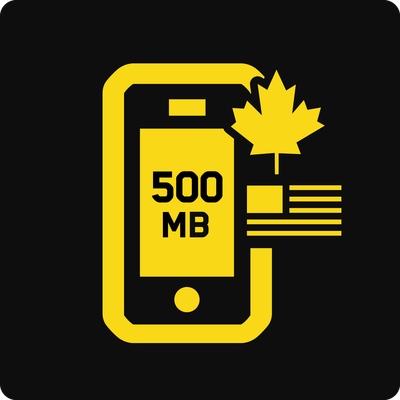 Canada–US 500MB Business Mobile plan