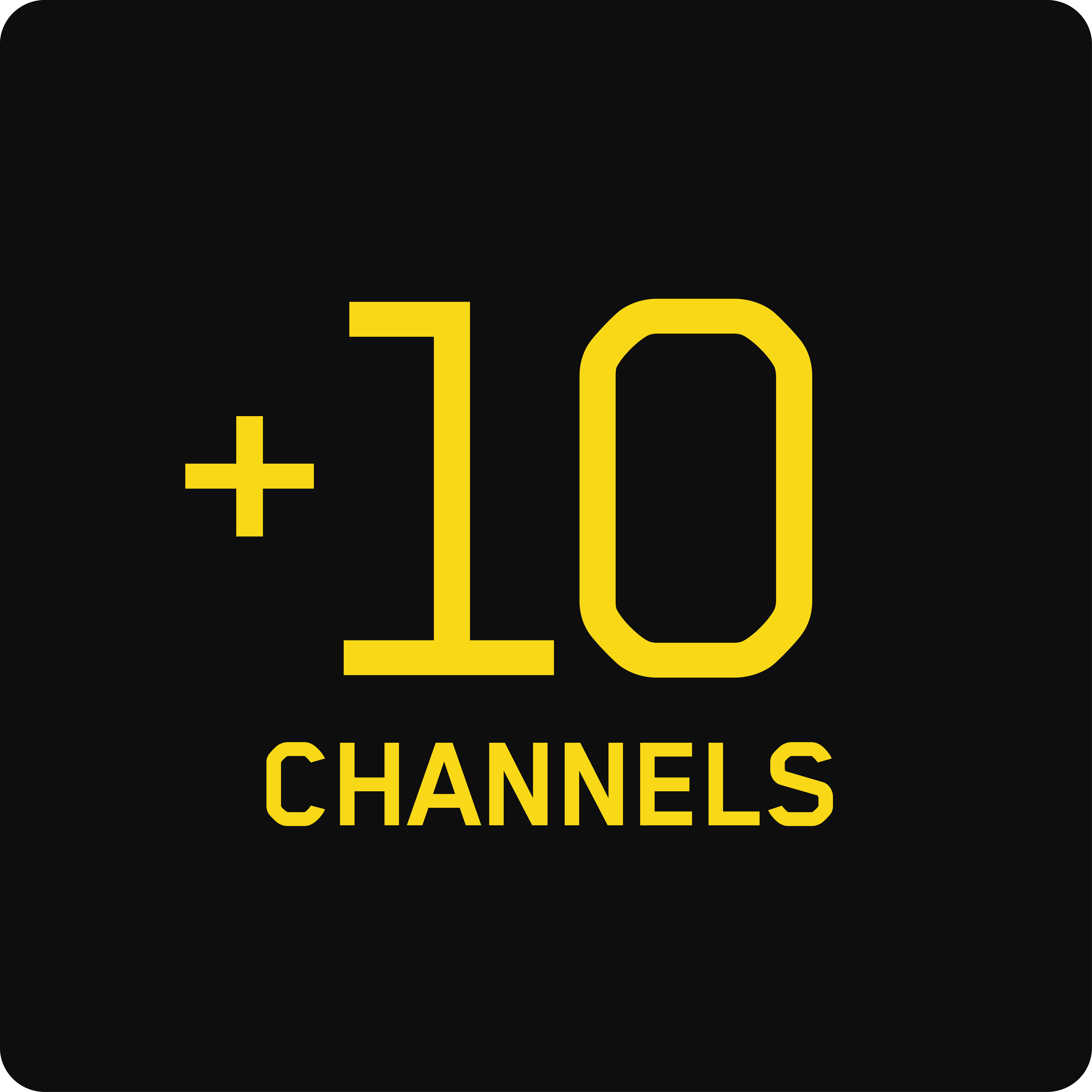 10 Extra Channels