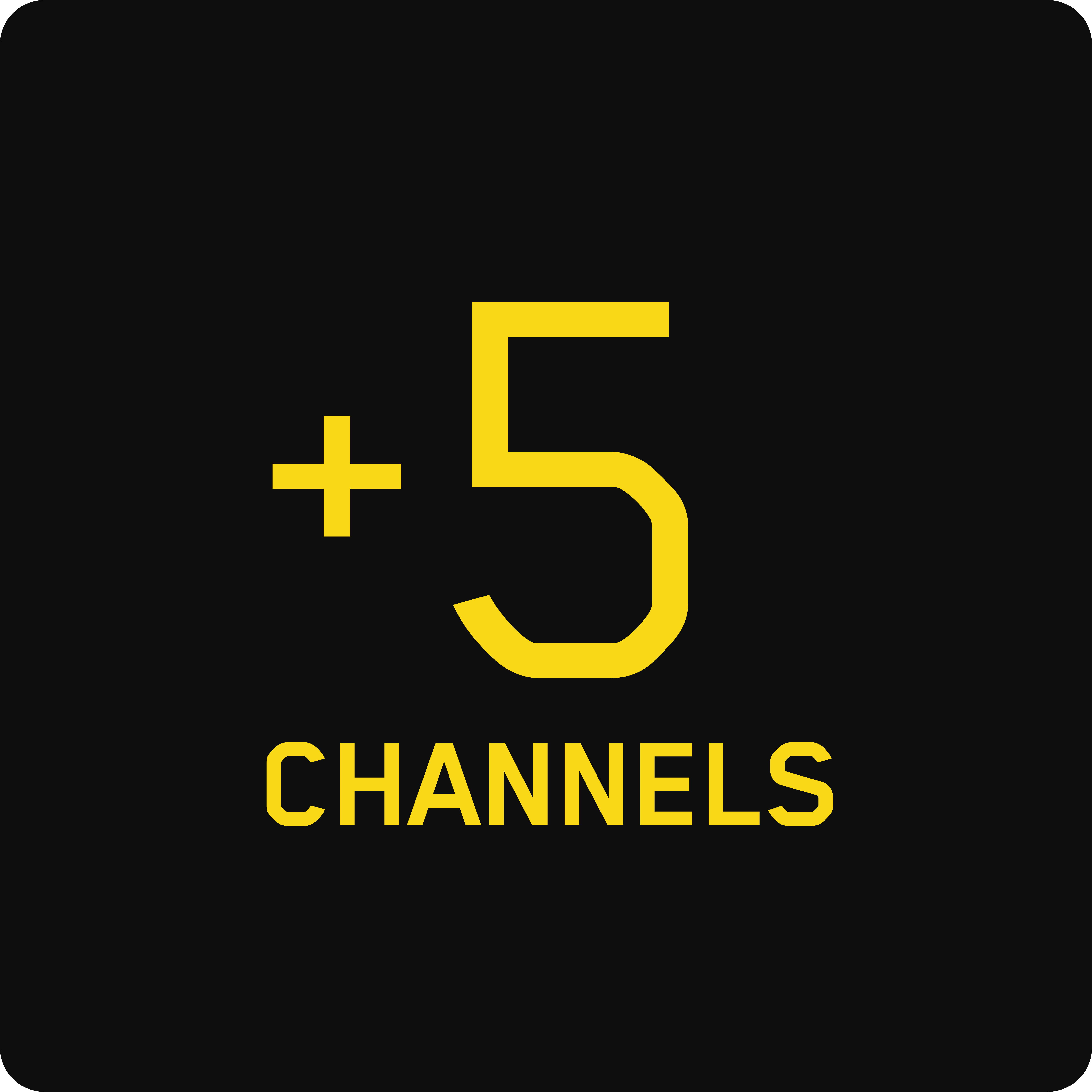 5 Extra Channels