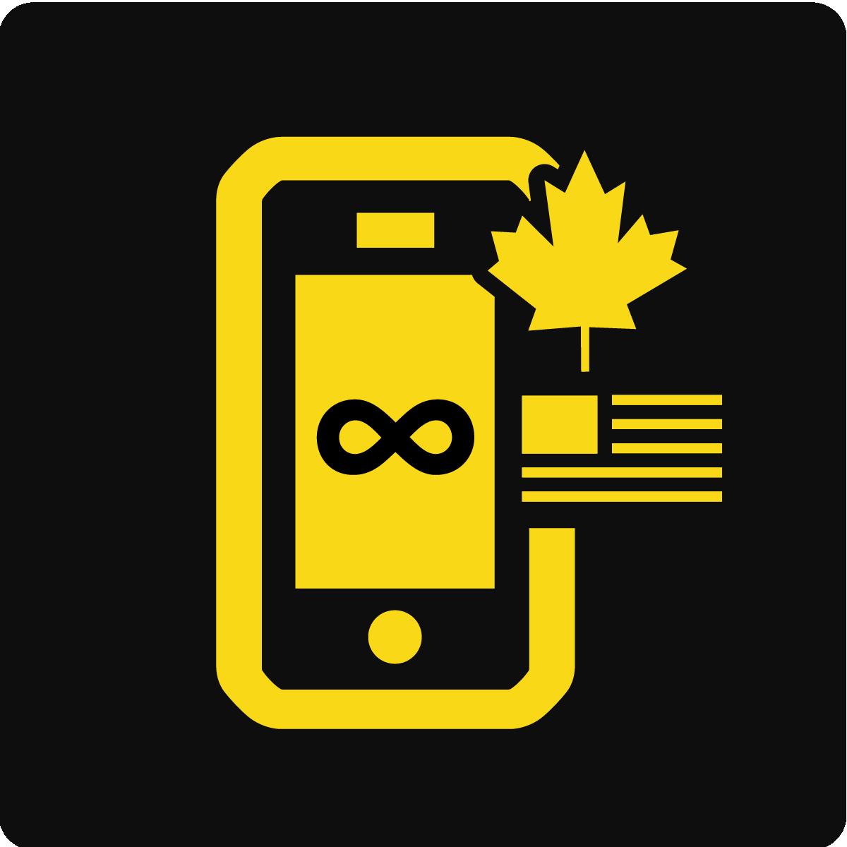 Interurbains illimités au Canada et aux États-Unis