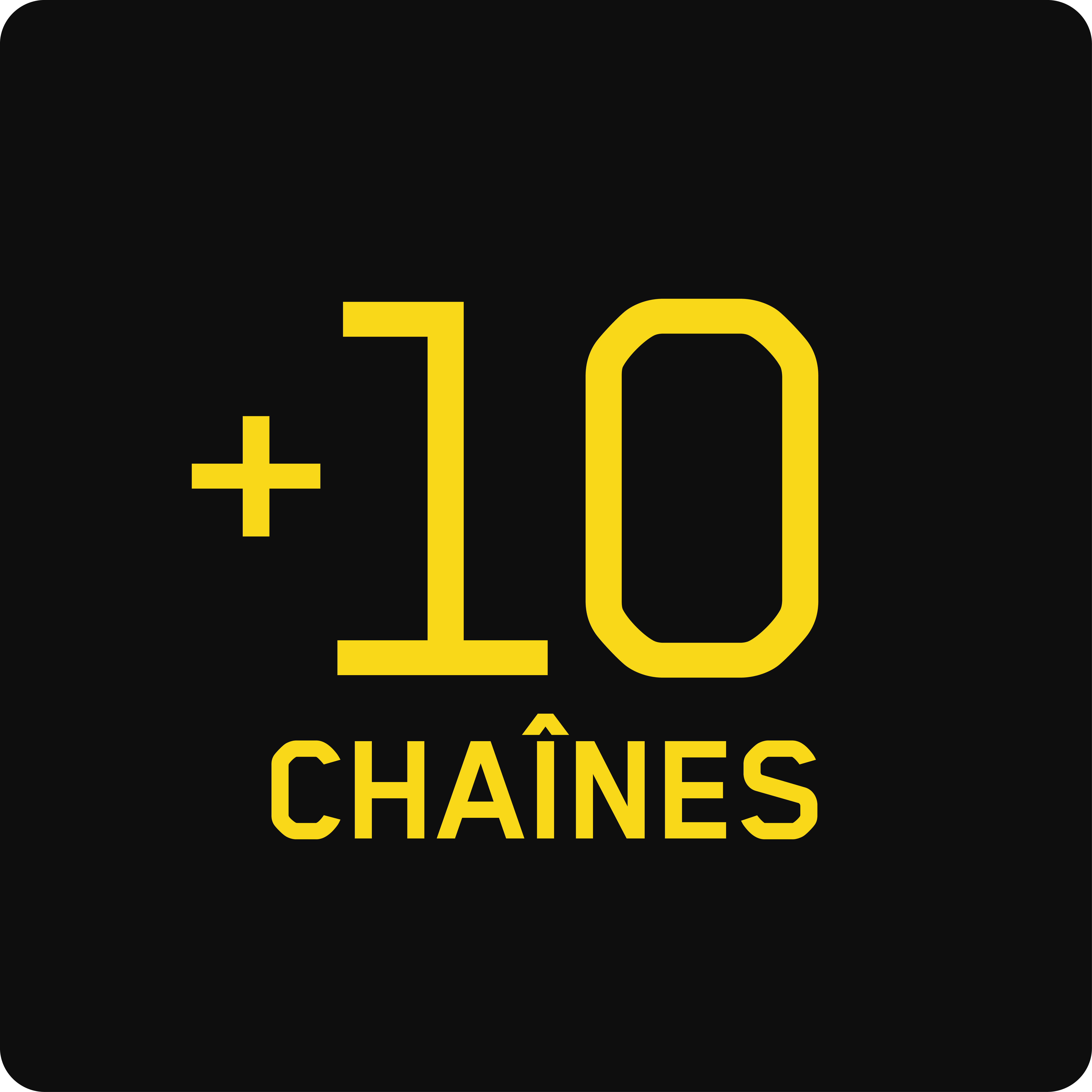 10 chaînes additionnelles