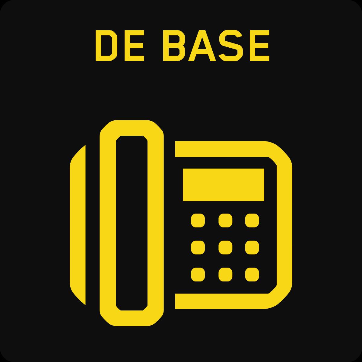 Ligne Téléphonique de Base