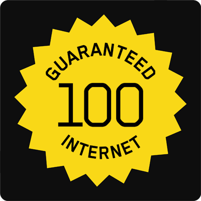 100 30 Guaranteed Hybrid Fibre Internet Access - Small