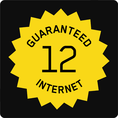 12 12 Guaranteed Hybrid Fibre Internet Access - Small