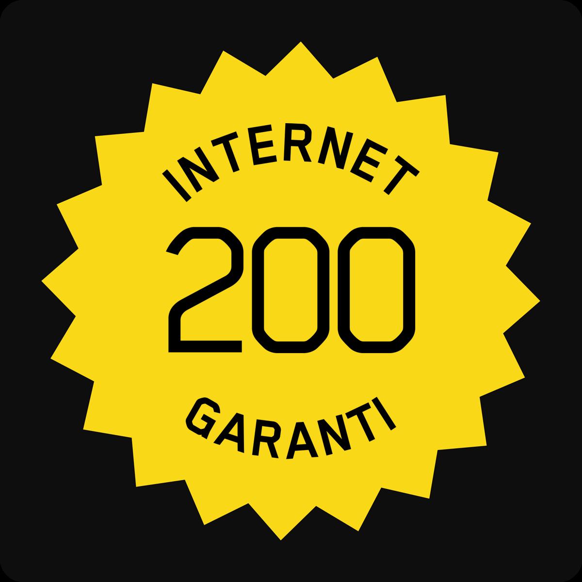 Accès Internet Garanti 200/50