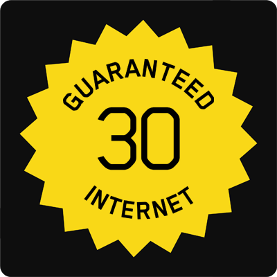 30 30 Guaranteed Hybrid Fibre Internet Access - Small