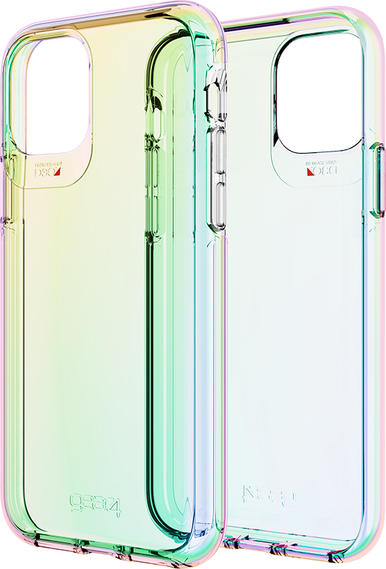 Étui iPhone 11 Gear4 Crystal Palace Iridescent Transparent - Moyenne