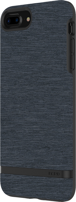 Esquire iPhone 8 Plus case - Blue - Moyenne