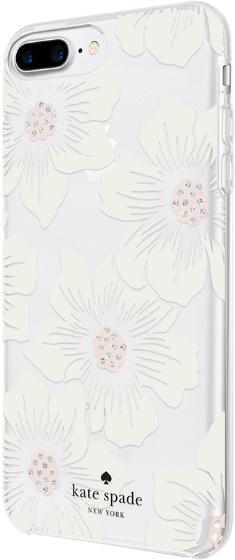 Kate Spade iPhone 6S/7/8 Plus - Hollyhock Floral - Moyenne