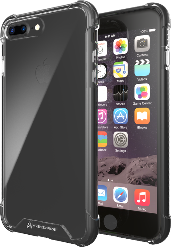ProShield iPhone 7/8 Plus case - Black - Moyenne