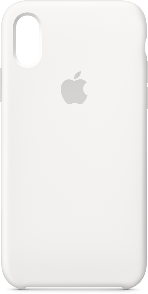 pretty nice d4253 b49a7 iPhone XS Apple Silicone Case White