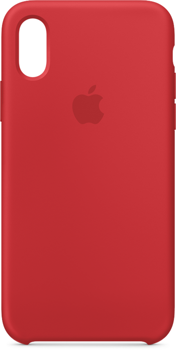 brand new c7d35 0d018 iPhone XS Apple Silicone Case Red