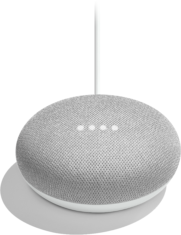 Google Home-Mini Chalk bluetooth - Moyenne