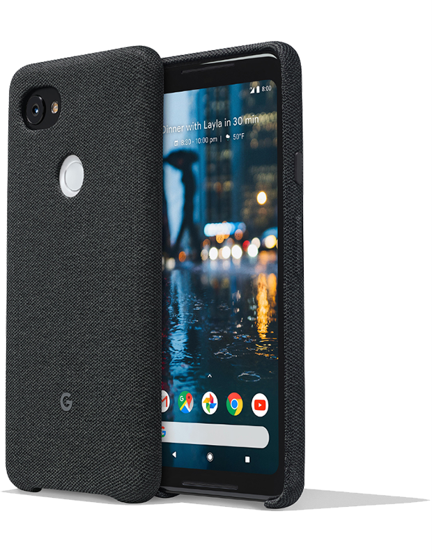 Case Fabric Carbon Google Pixel 2 XL - Moyenne