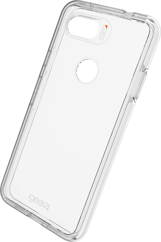 Étui Google Pixel 3A Gear4 Crystal Palace Transparent - Moyenne