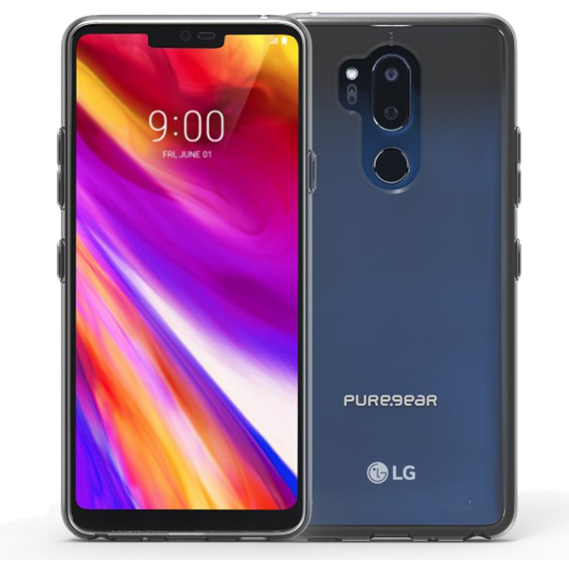 Étui LG G7 One PureGear Slim Shell Transparent - Moyenne