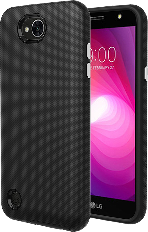 Protech Case Black LG X power 2 - Moyenne