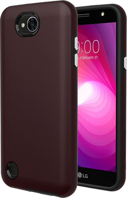 Protech Case Burgundy LG X power 2 - Moyenne