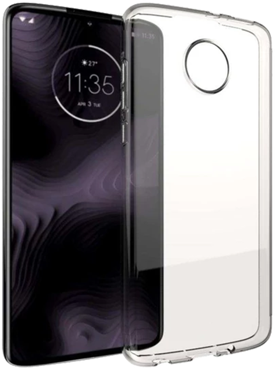 hot sale online 31499 0f69d Motorola Moto Z4 Blu Element TPU Case Clear