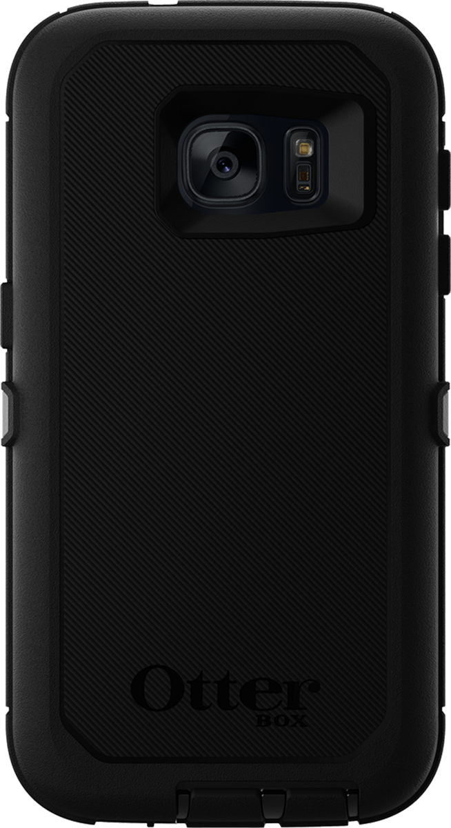 low cost f5679 8f541 Samsung Galaxy S7 black Otterbox Defender case