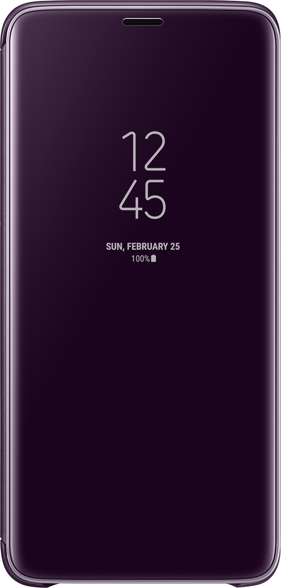 size 40 12319 67115 LED View Cover Purple S9+