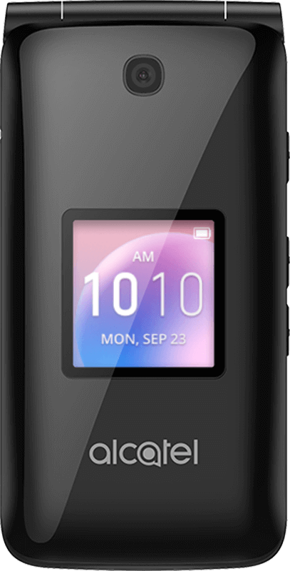 Alcatel Go Flip - Black - Medium