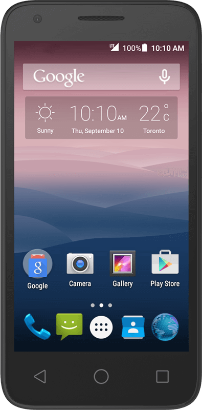 Alcatel onetouch Pixi 3 - Black - Medium