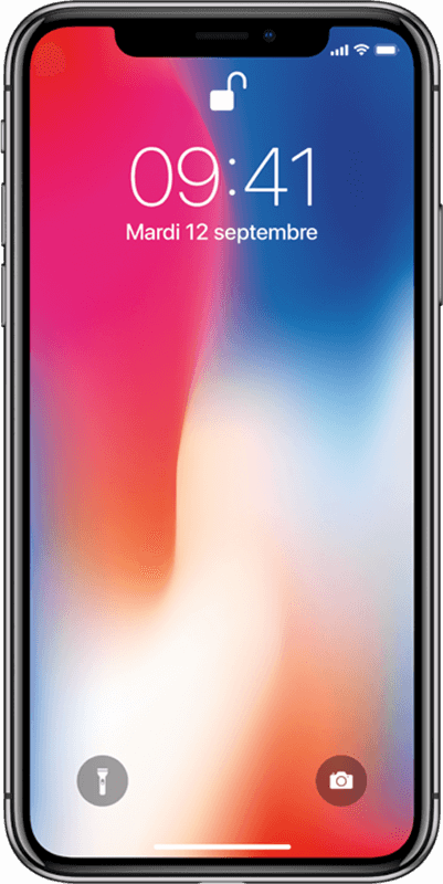 Apple iPhone X - Gris Cosmique - Moyenne