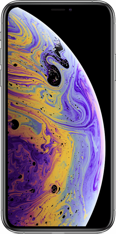 iPhone Xs - Argent - Moyenne