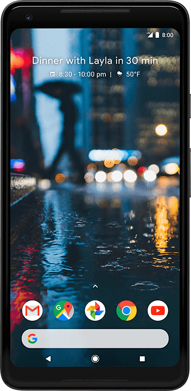 Google Pixel 2 XL - Black - Medium