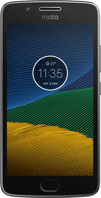 Motorola Moto G5 - Grey - Medium
