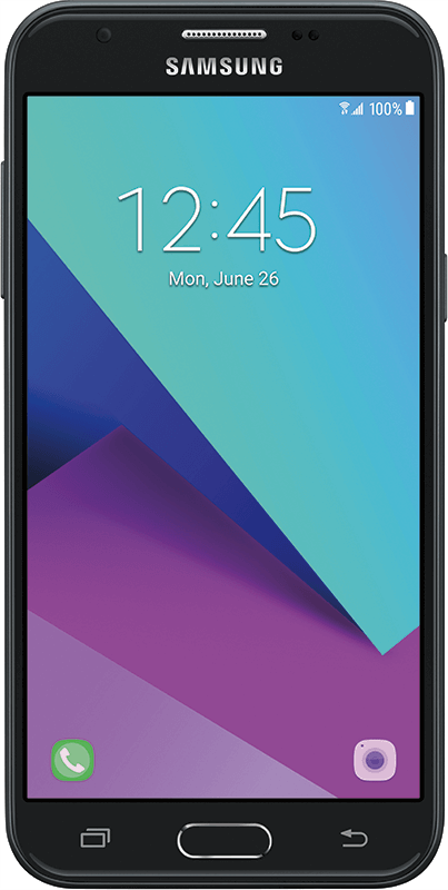 Samsung Galaxy J3 Prime - Black - Medium