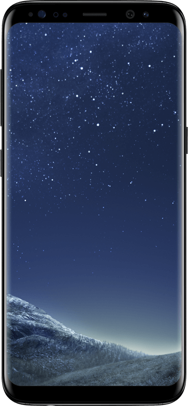 Samsung Galaxy S8 - Black - Medium