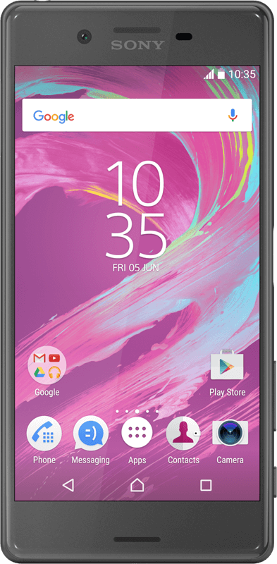 Sony Xperia X - Dark Grey - Medium