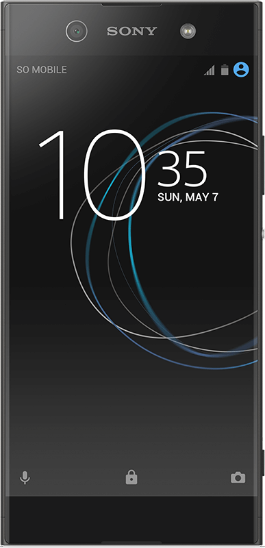 Sony Xperia XA1 Ultra - Black - Medium
