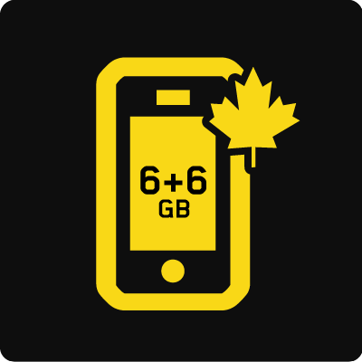 Forfait Mobile Affaires Canada 12 Go - Small