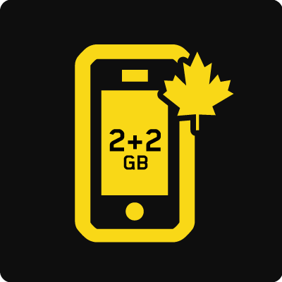 Forfait Mobile Affaires Canada 4 Go - Small