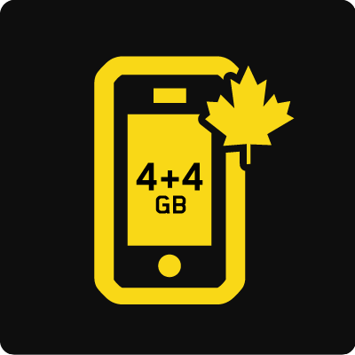 Forfait Mobile Affaires Canada 8 Go - Small