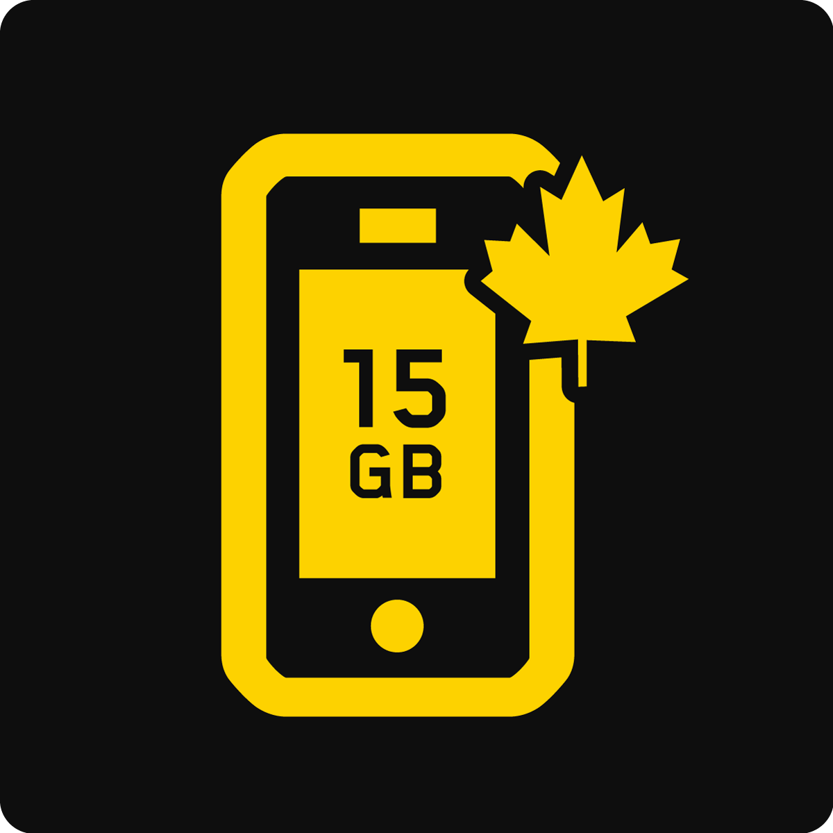 Canada 15 GB Business Mobile plan