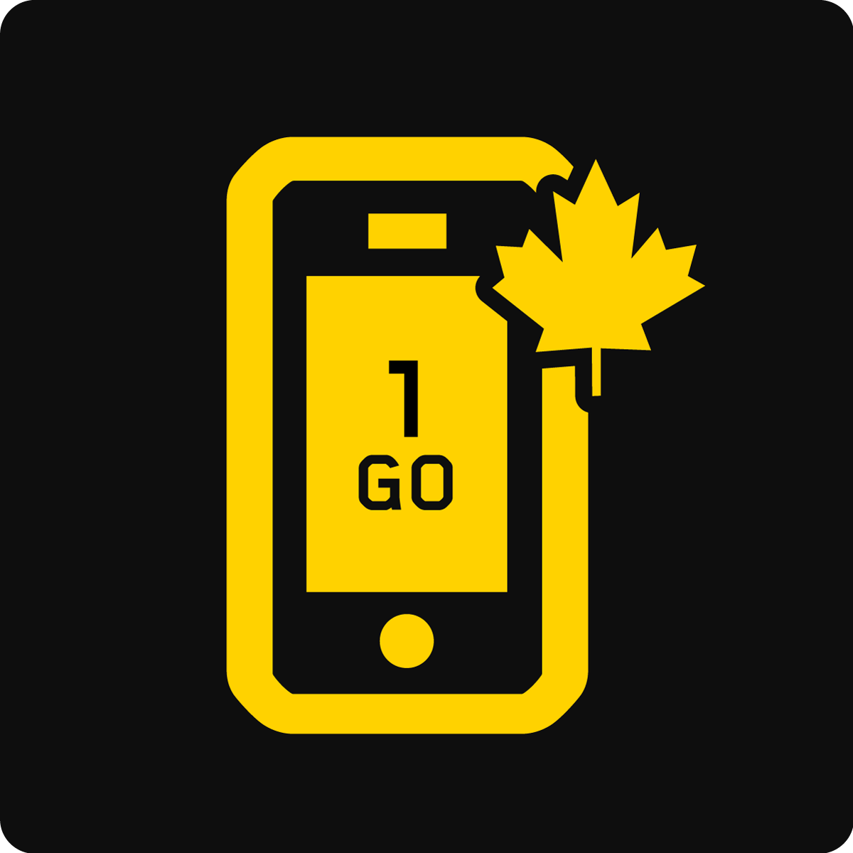 Forfait Mobile Affaires Canada 1Go
