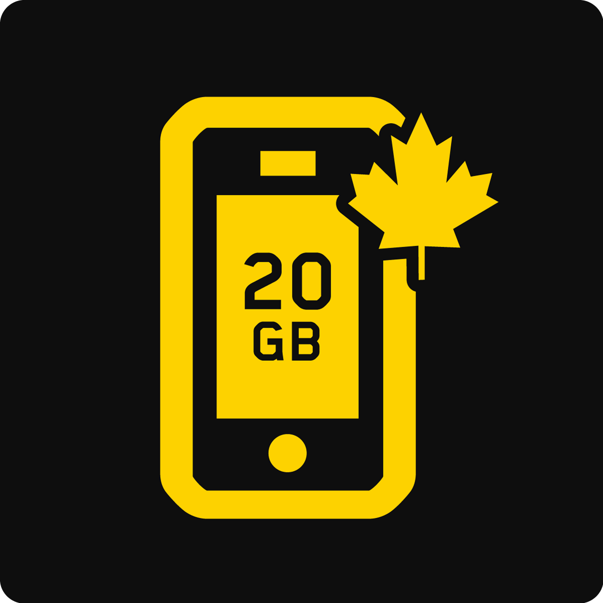Canada 20 GB Business Mobile plan
