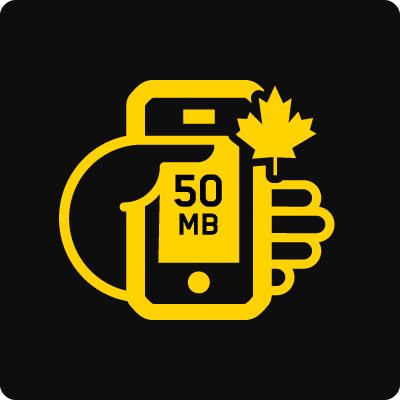 Canada 50 mb business mobile plan
