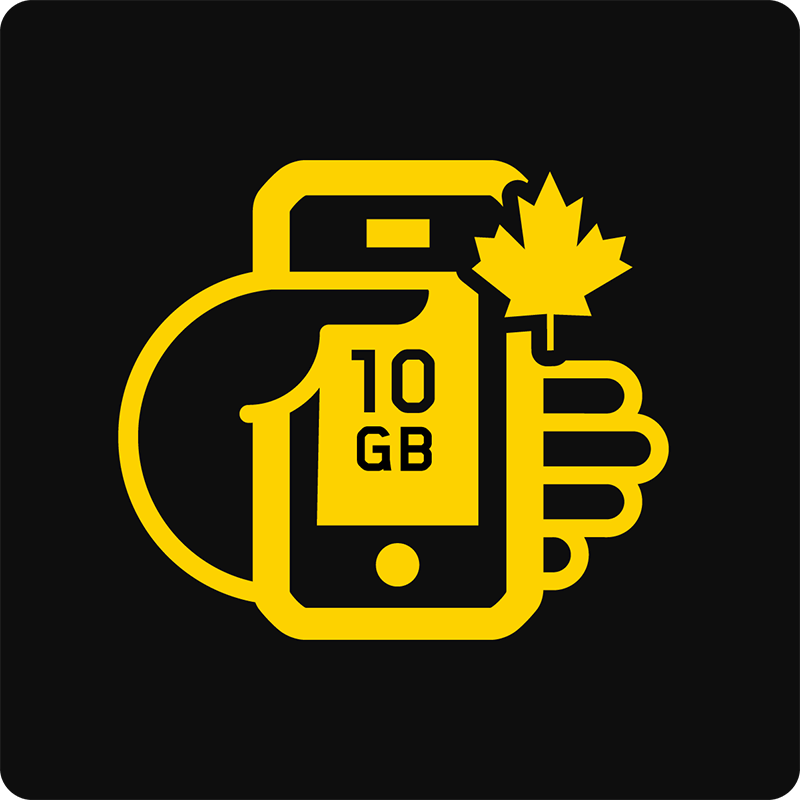 Canada 10GB Bring Your Own Device Mobile plan - Medium