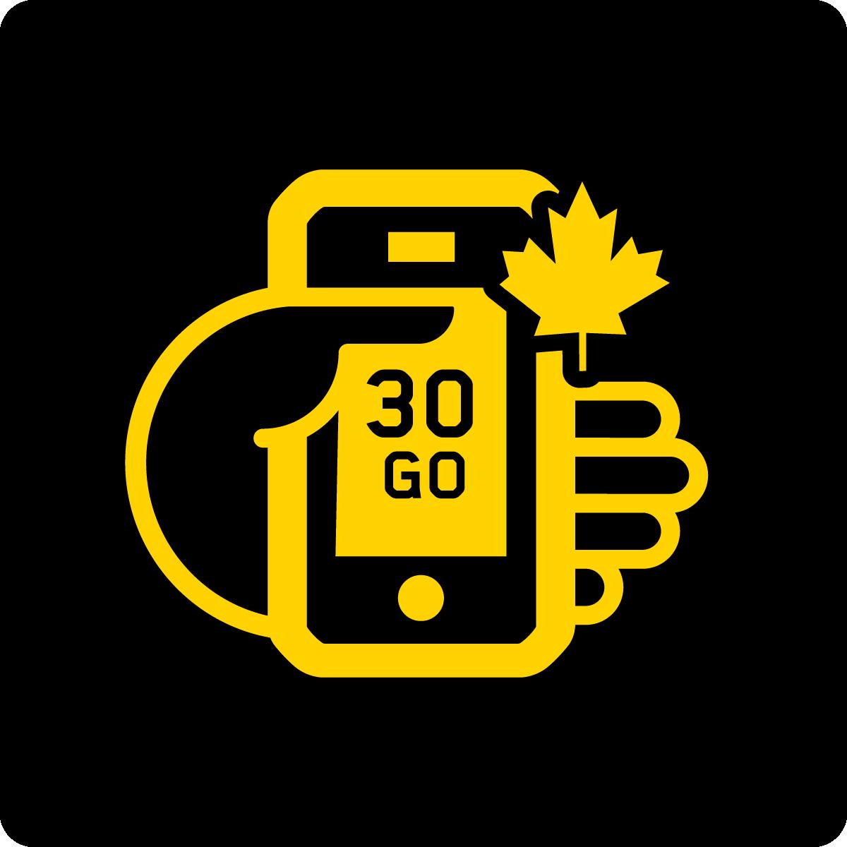 Forfait Mobile Apportez Votre Appareil Canada 30Go