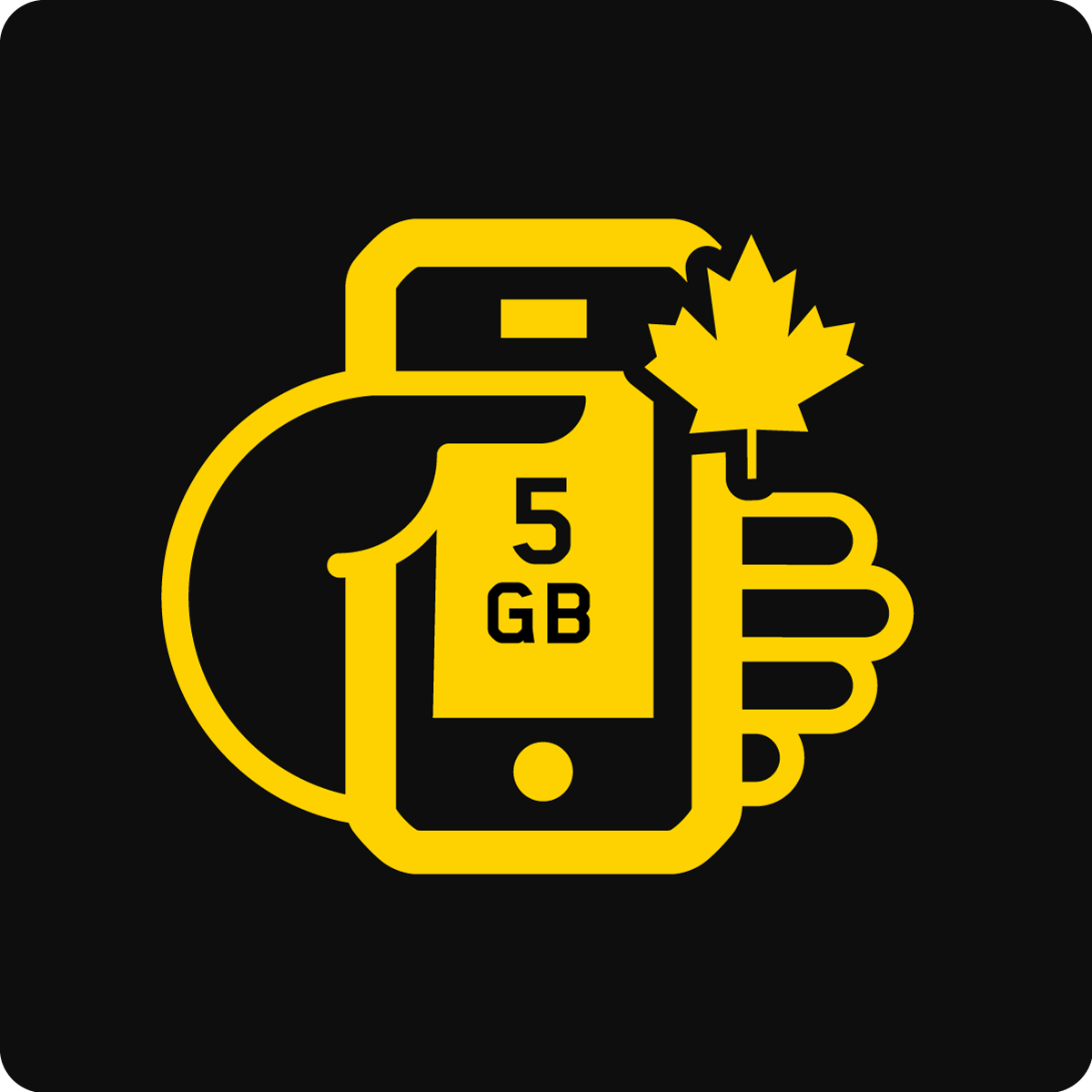 Bring Your Own Device Canada 5GB Mobile plan